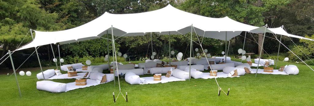 zaplecze piknikowe namioty krzesła piknikowe ławy piknikowe